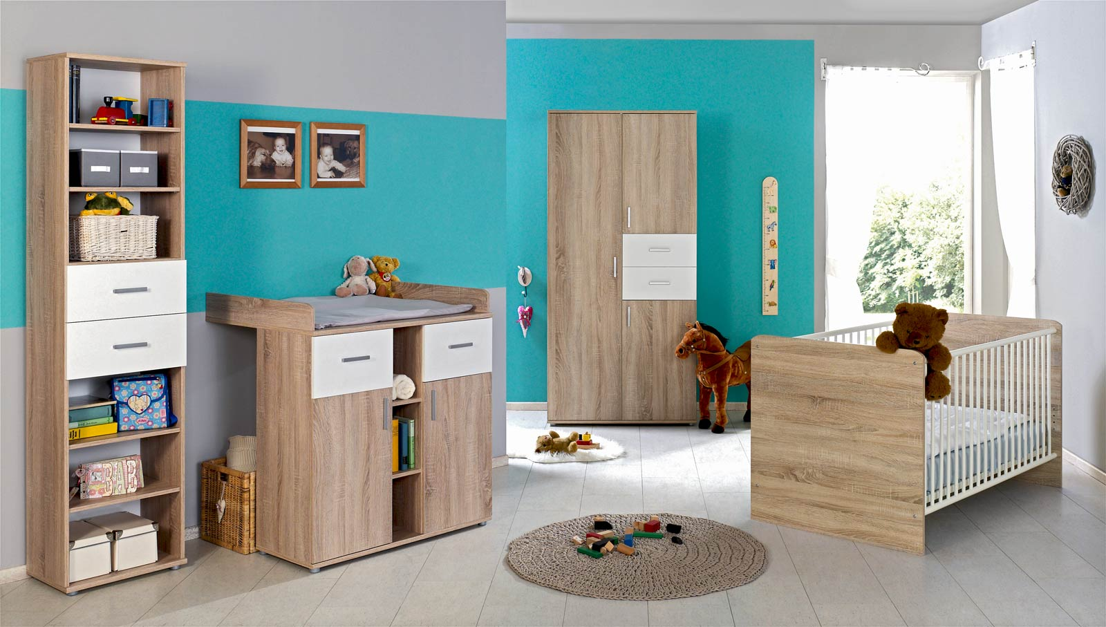kinderzimmer komplett set hochbett innenr ume und m bel. Black Bedroom Furniture Sets. Home Design Ideas