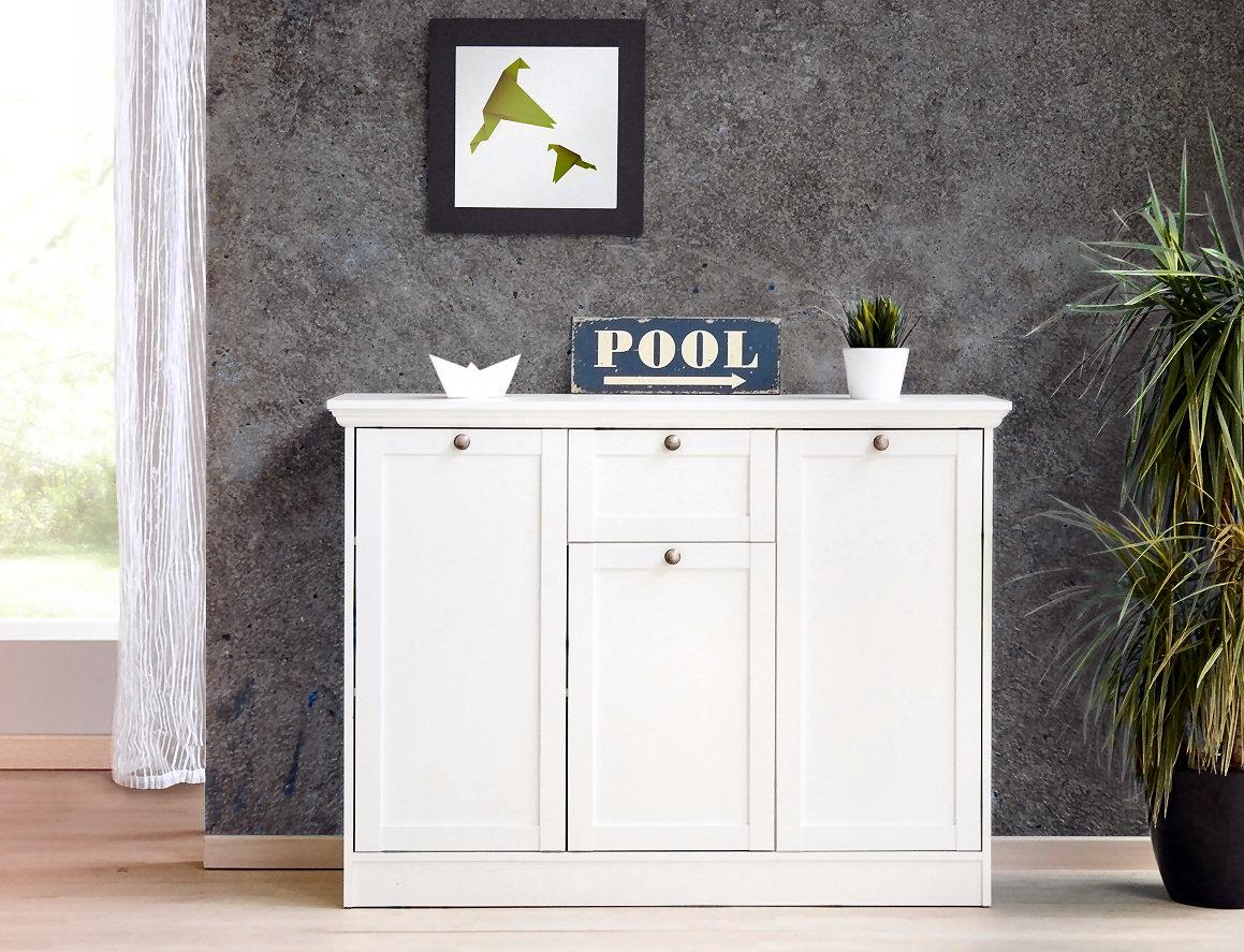 Attraktiv Kommode Weiß Landhausstil Dekoration Von / Sideboard Stockholm 15 Im In Weiß